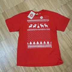 Vánoční tričko s krátkým rukávem