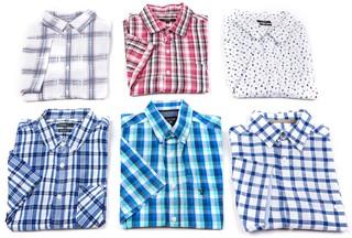 Košile Pánské krátký rukáv 10kg