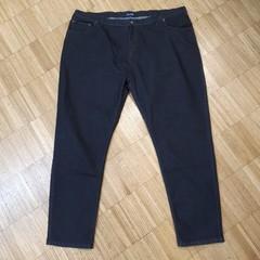 Pánské černé jeans nadměrné velikosti