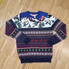 Svítící vánoční svetr