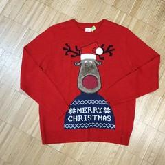 Vánoční svetr se sobem