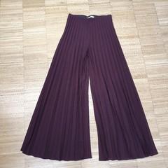 Plisované kalhoty Zara