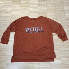 Tričko/tenká mikina REBEL