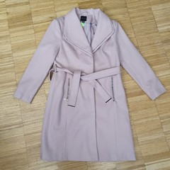 Flaušový kabát New Look