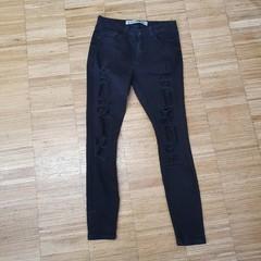 Černé jeans