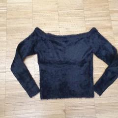Chlupatý svetr H&M